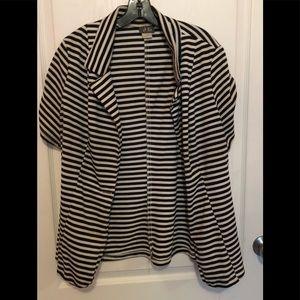 Jackets & Blazers - Striped Blazer